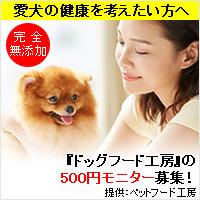 ドッグフード工房(500円モニター)