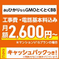 GMOとくとくBB auひかり(月額割引)