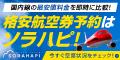 【ポイントUP!】ソラハピ 国内航空券購入